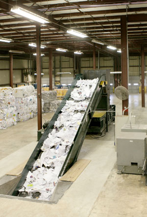Business recycling facilities, Tennessee, Illinois and Texas